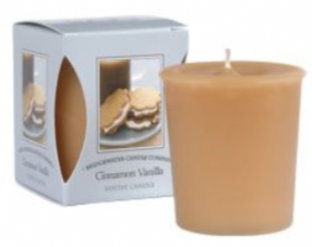 Cinnamon Vanilla Boxed Votive  Candle